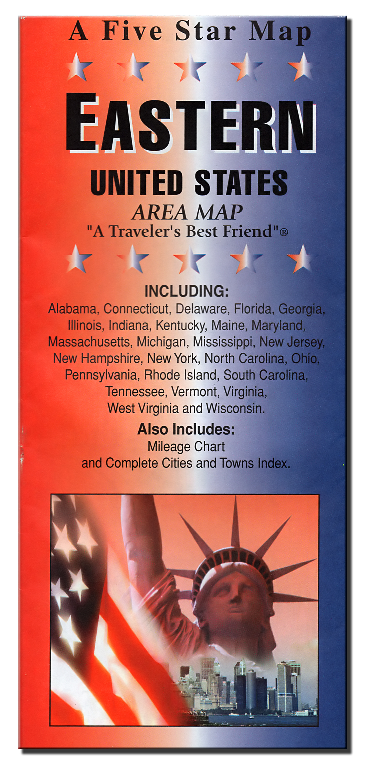 Eastern USA (Five Star Maps) – The Map Source