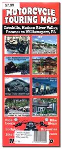 Motorcycle Touring Map